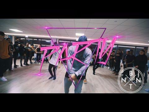 PARTY  Chris Brown ft Usher & Gucci Mane  Alex BNTN Choreography