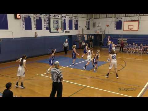 Herricks High School Girls Varsity Basketball vs Long Beach HS 01/04/17