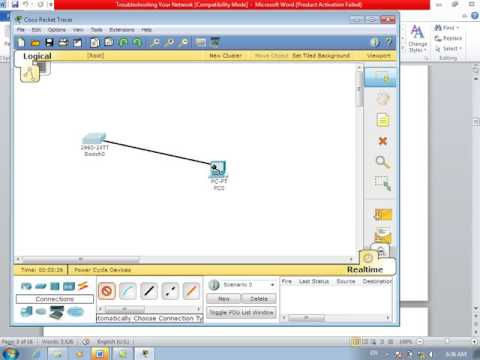 9th Day CCNA Network Troubleshooting 18 07 2012 in Farsi (Persian) language