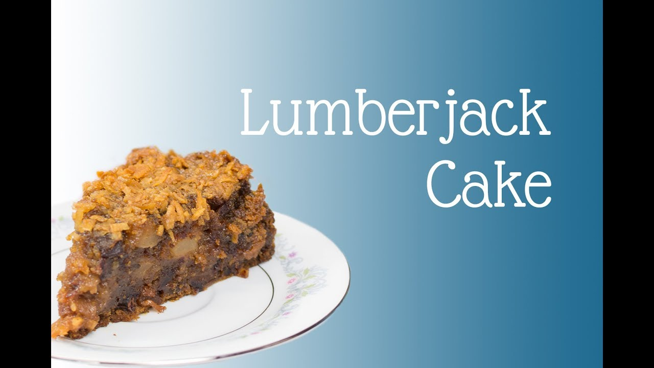 Lumberjack Cake (CLASSIC AUSTRALIAN RECIPE) - YouTube