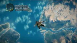 Just cause 2 jump 6735 m. world record ?