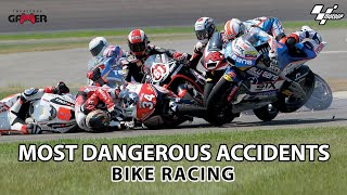 Top Most Dangerous Accidents in Bike Racing Game ( Moto Gp-2020 ) By #cheatcodegamer