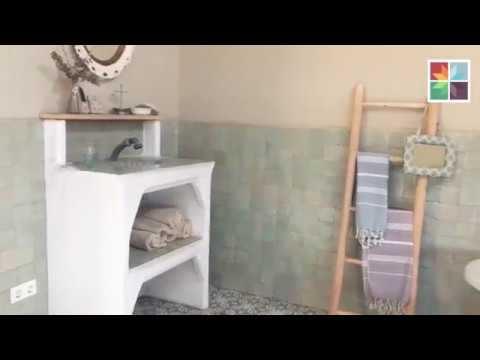 Penny Tiles Badkamer : Designtegels badkamer showroom breda youtube