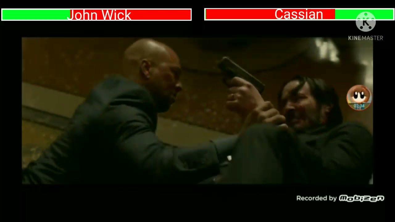 Download John Wick vs Cassian with healthbars John Wick Chapter 2