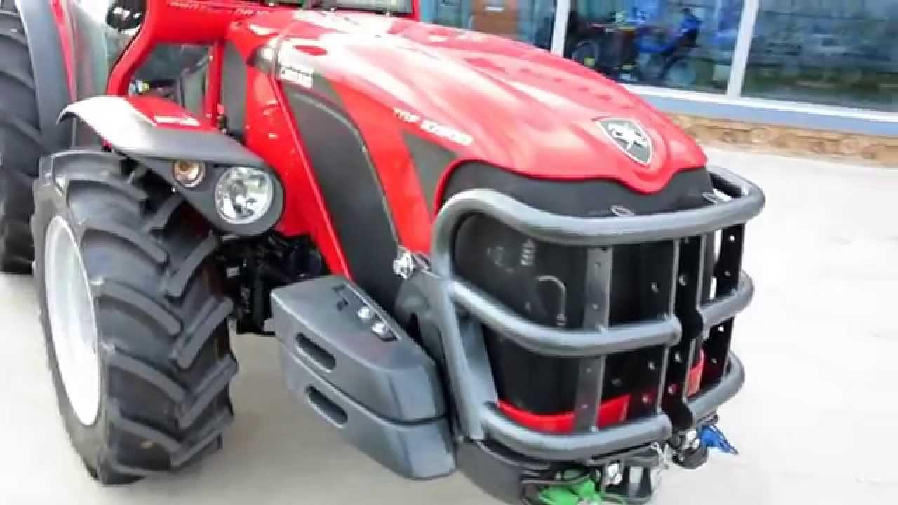 Трактор Antonio Carraro TGF 10900 - YouTube