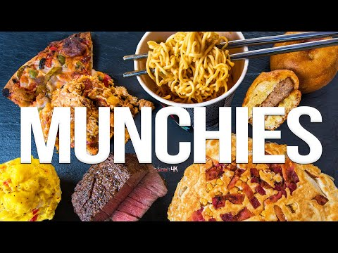 The Best Munchies – 6 Quick & Easy Recipes | SAM THE COOKING GUY 4K