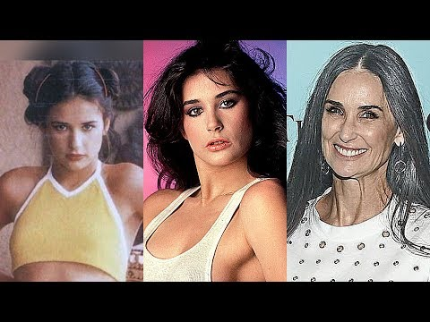 Demi Moore Transformation 2018 || From 1962 To 2018