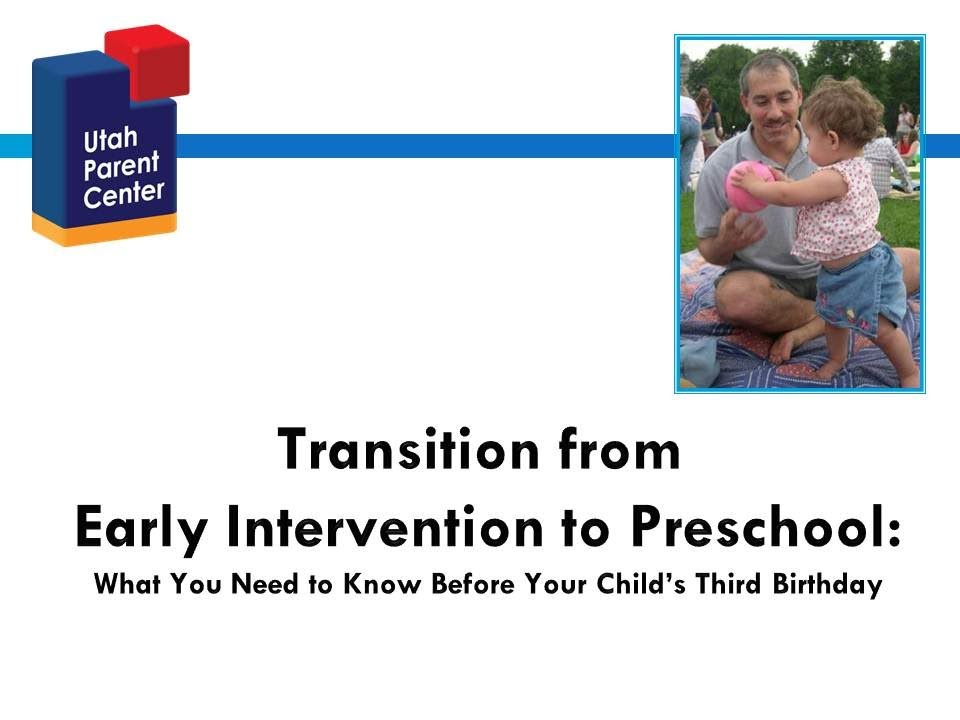transition research and early childhood transitions