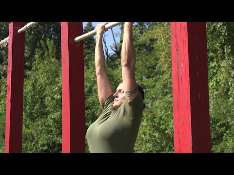 U.S. Marines Hybrid Pull-Up/Push-Up Test