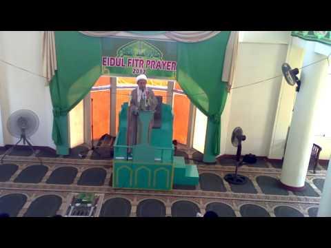 2017  Salatul Khutba eidul ftre at Masjid Al Imam Al Mahdi (atfs) -Zamboanga City, Philippines