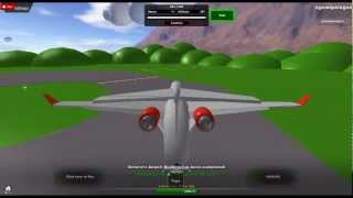Roblox CRJ 1000 take-off