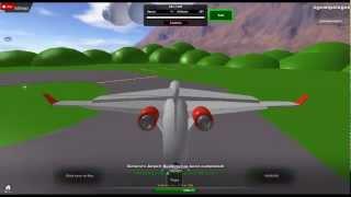 Roblox CRJ 1000 take-off