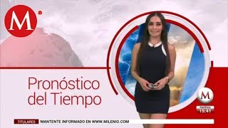 El clima para mañana 22 de agosto, con Emily Quiñones