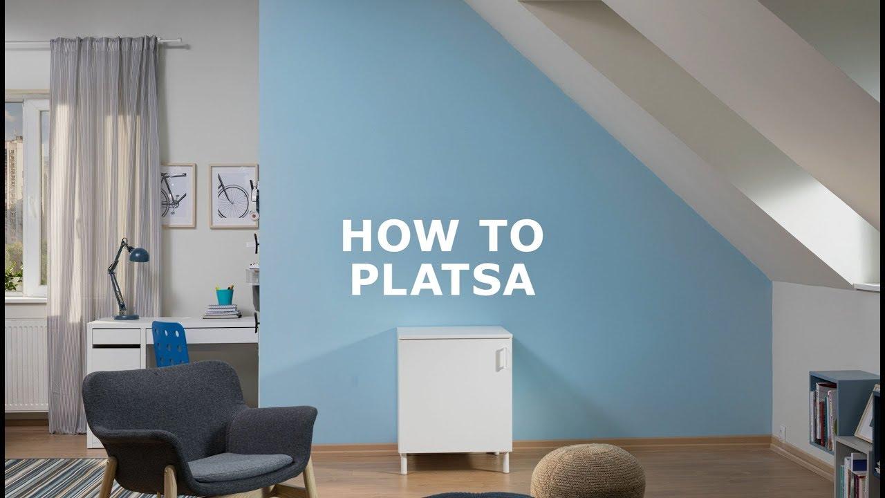 Platsa Modulair Opbergsysteem Kan Overal Ikea Helpt