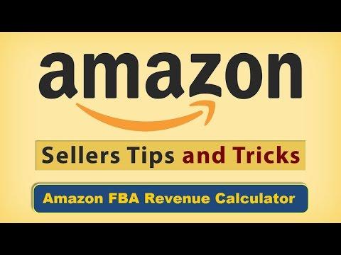 amazon fba revenue calculator uk