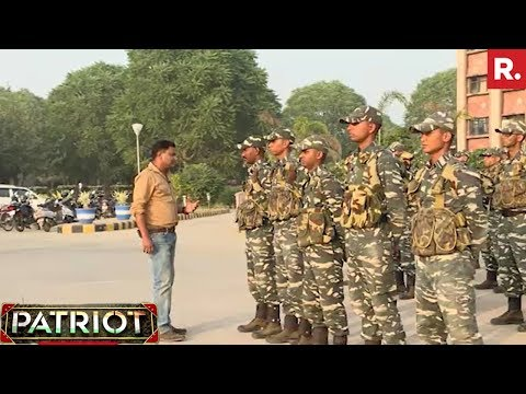 Major Gaurav Arya In CRPF Academy - Part 1 | Patriot