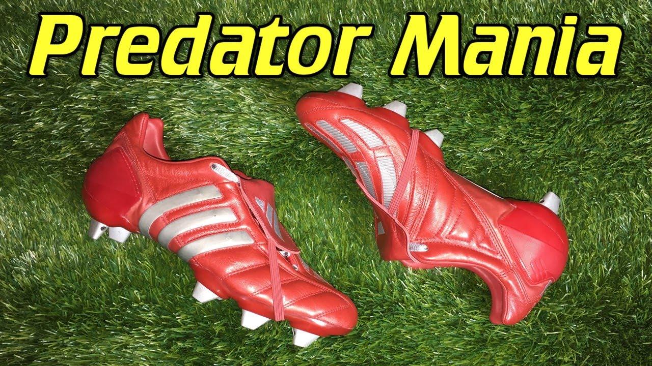Adidas Predator Mania (2002) - Retro Review + On Feet - YouTube 1822a504242