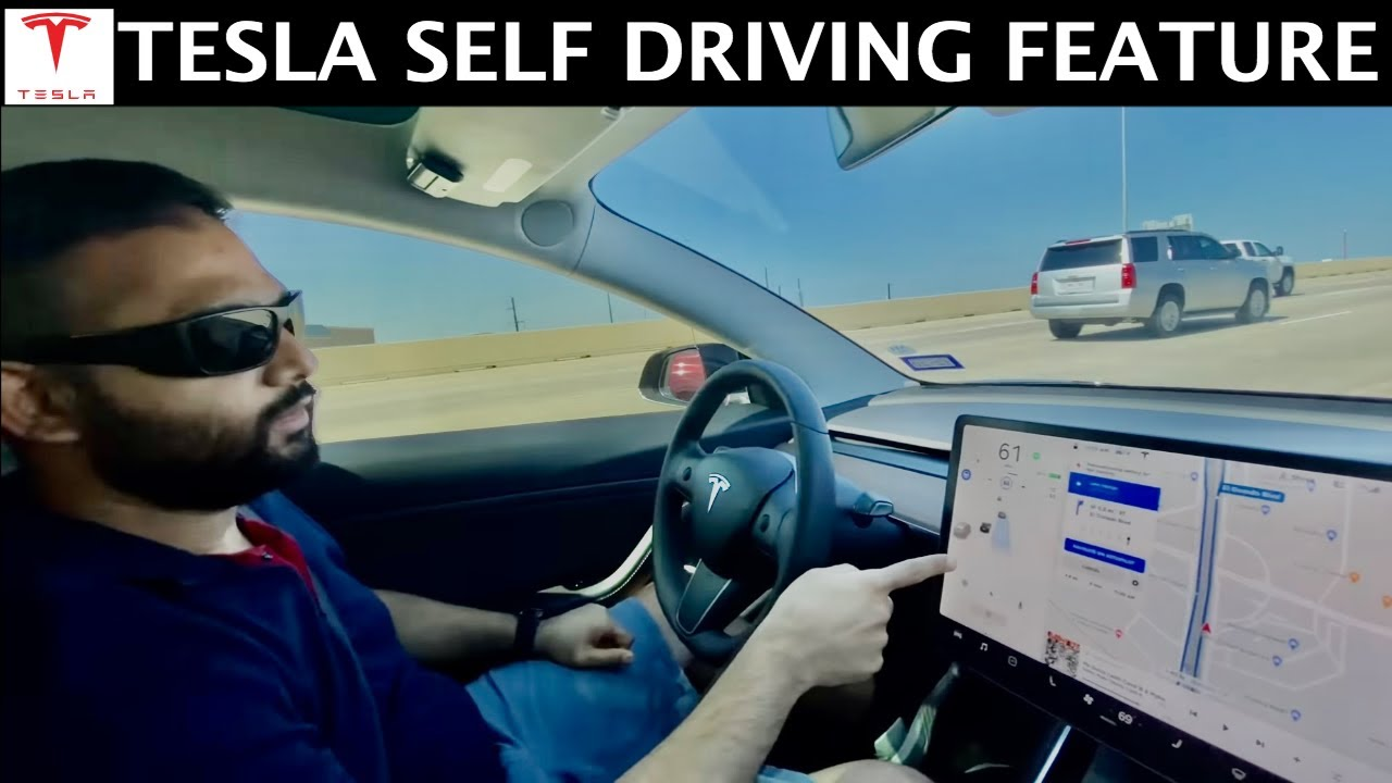Tesla Self Driving | Tesla Autopilot | Indian Vlogger | Hindi Vlog | This Indian