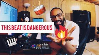 this beat is dangerous!!! (making a boom bap hip hop beat)