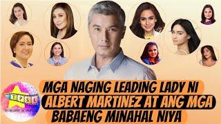 Mga Naging Leading Lady ni Albert Martinez at ang mga Babaeng Minahal Niya