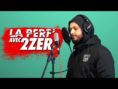 Youtube: La Perf': 2Zer rappe sur 3 prods différentes en 2 min