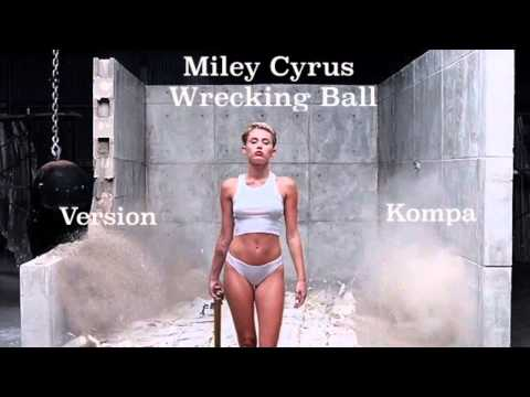 Miley Cyrus - Wrecking Ball remix kompa