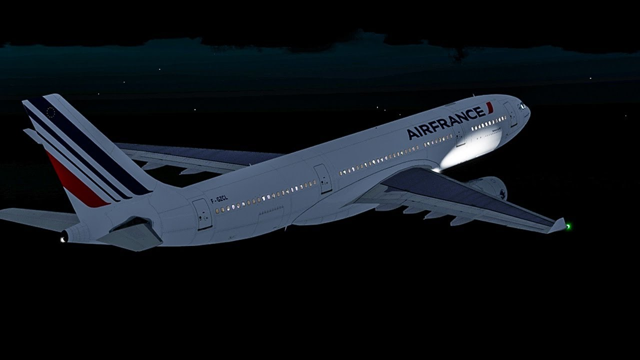 Falling Over 12,000 Feet per Minute into the Atlantic Ocean   Vanished    Air France Flight 447