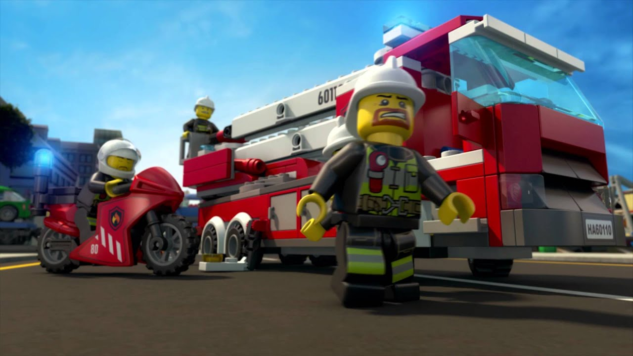All Hands To The Rescue Lego City Fire Brigade Mini