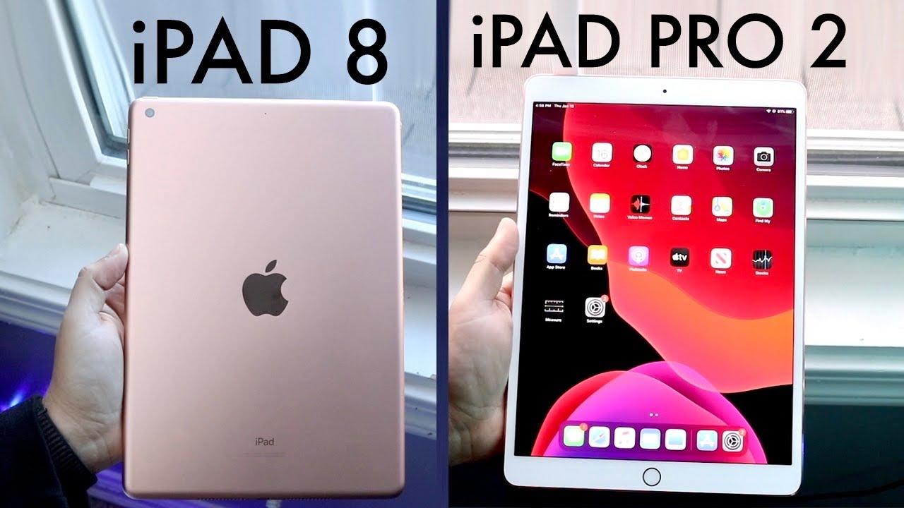 iPad 8th Generation Vs iPad Pro 2nd Generation ...