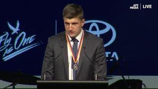 State League Club Champion Winner Speech