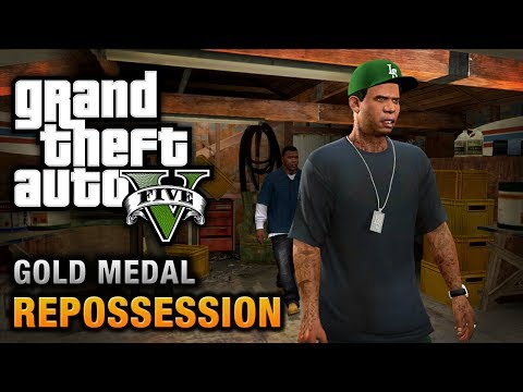 GTA 5 - Mission #2 - Repossession [100% Gold Medal Walkthrough]
