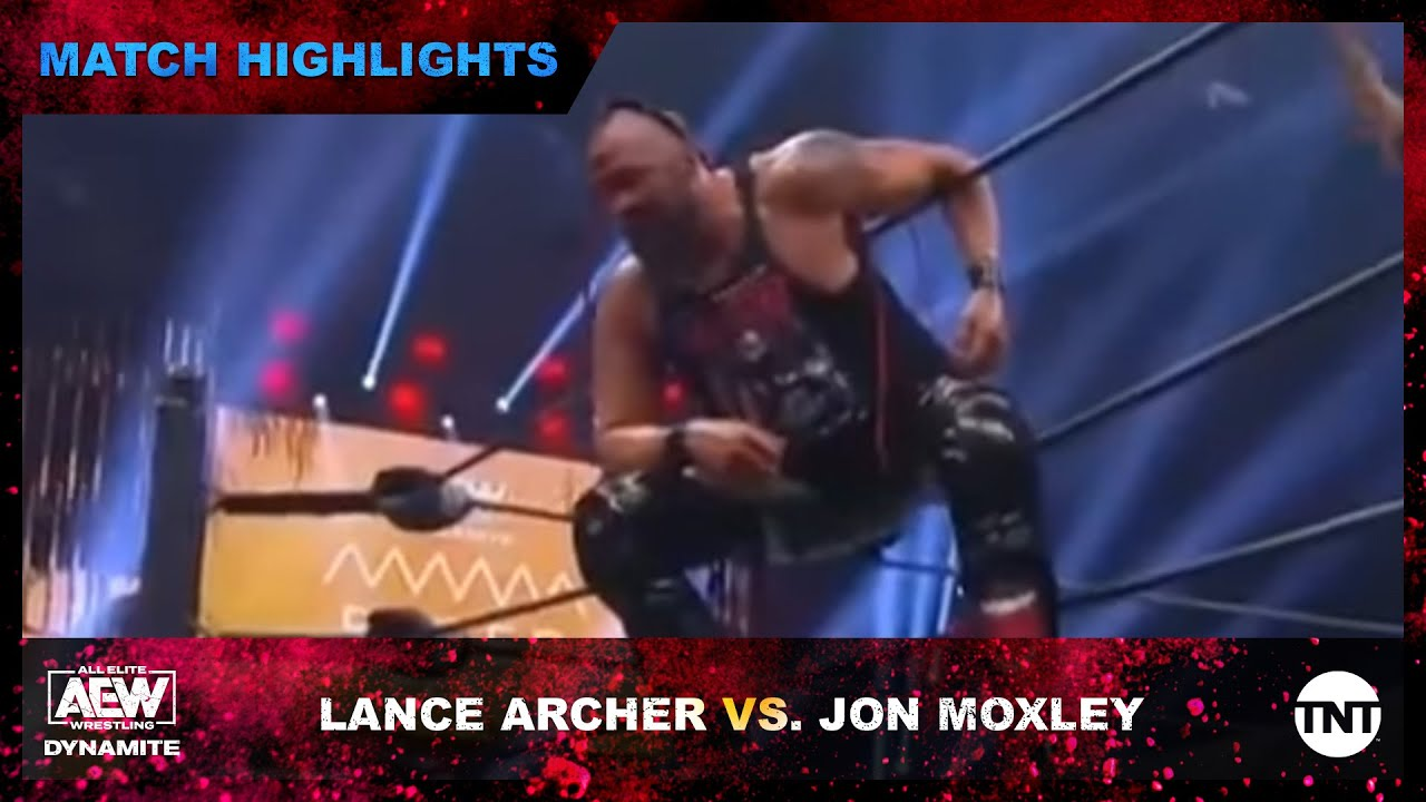 Lance Archer and Jon Moxley Face Off for the IWGP US Championship