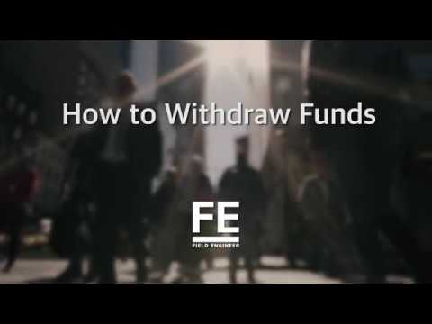 How to Withdraw Funds on FE App