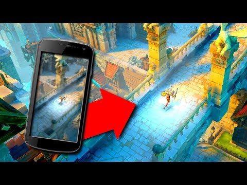 THIS FREE MOBILE GAME IS COMING TO PC! | Dungeon Hunter 5 Gameplay