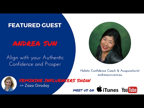 Andrea Sun and Zaza Giroday Episode 6 Feminine Influencers Show