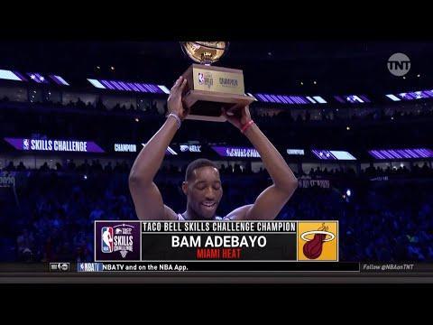 Bam Adebayo Wins 2020 NBA All-Star Skills Challenge | All 3 Rounds | Miami Heat Star