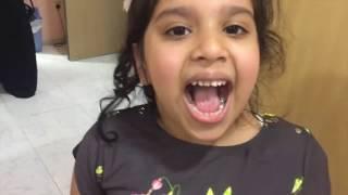 شفا راحت عند دكتور الأسنان ! طلع منها دم خافت !😱