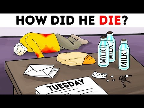 12 Crime Riddles And Logic Puzzles To Break Your Head