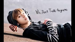 BTS 정국(Jungkook)&뷔(V)We don't talk anymore