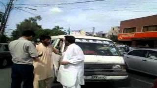 Alto Vs Mini Bus - Road Car Accident
