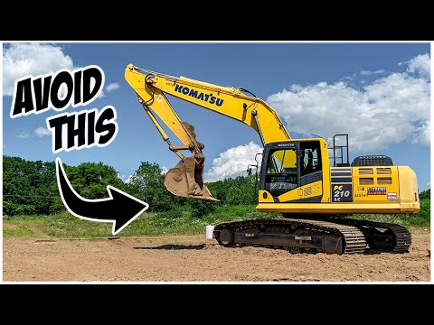What NOT To Do In An Excavator | Heavy Equipment Operator Training