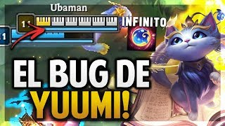 ¡EL BUG DE YUUMI! | ESCUDO INFINITO Y MODO DIOS! | League of Legends