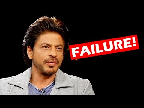 Shahrukh Khan REVEALS The Benefits Of FAILURE - Check Out