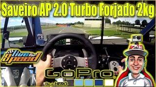 🔴► Saveiro AP 2.0 Turbo Forjado 2kg - G27 - LFS
