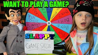 SLAPPY GAME SHOW! Don't Open The Wrong Box From Slappy The Dummy!