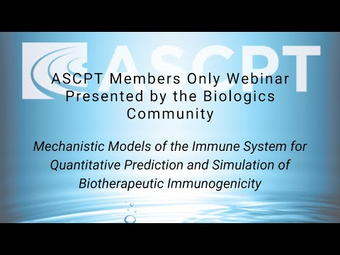 Mechanistic Models of the Immune System for Quantitative Prediction and Simulation of Biotherapeutic