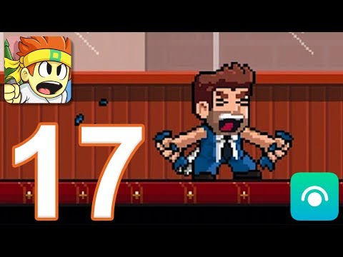 Dan The Man - Gameplay Walkthrough Part 17 - All Bonus Levels, Barry (iOS, Android)