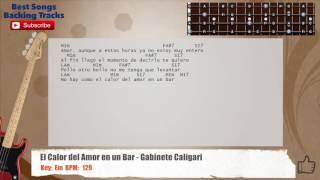 El calor del amor en un bar acordes
