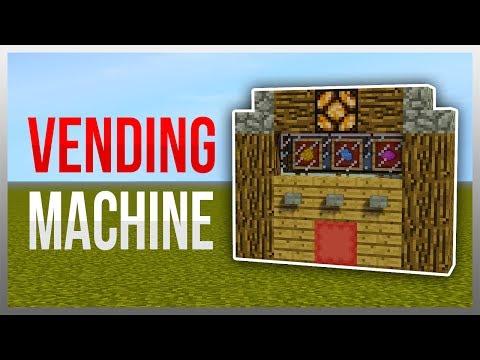 ✔️ Easy Vending Machine (Redstone Tutorial)
