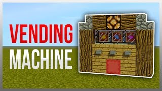 Video ✔️ Easy Vending Machine (Redstone Tutorial) download MP3, 3GP, MP4, WEBM, AVI, FLV Desember 2017